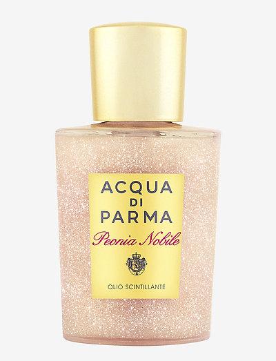 Peonia Nobile Shimmering Oil - kroppsolja - clear