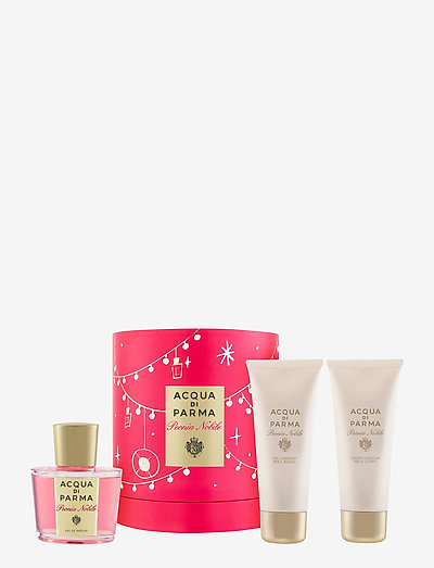 Peonia Nobile Gift Set - parfymesett - clear