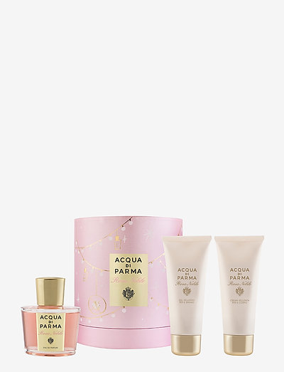 Rosa Nobile Gift Set - parfymesett - clear