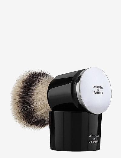 Black Shaving Brush - rakborste - clear