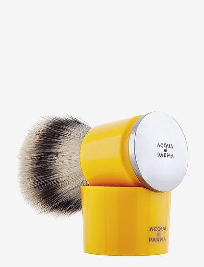Yellow Shaving Brush - barberkost - clear