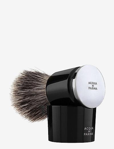 Black Badger Shaving Brush - rakborste - clear