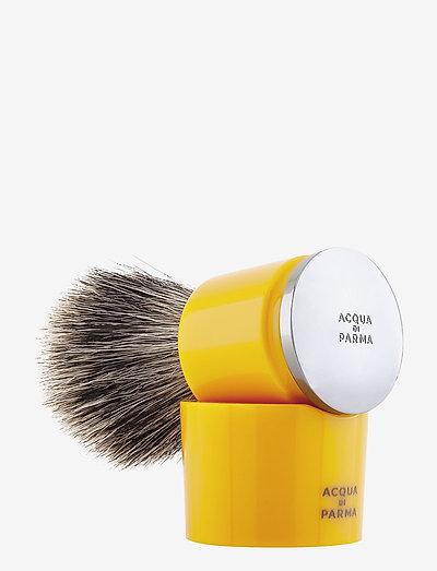 Yellow Badger Shaving Brush - rakborste - clear