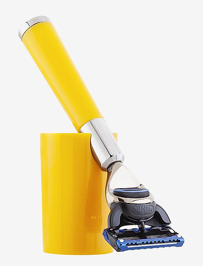 Yellow Shaving Razor - rakhyvel - clear