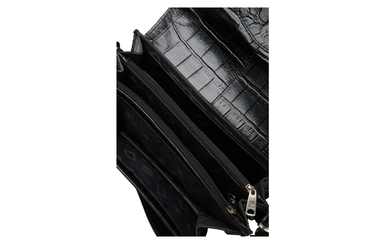 100 Calfleather Ingrid Teramo Bag Adax Black Shoulder RqTpWw6