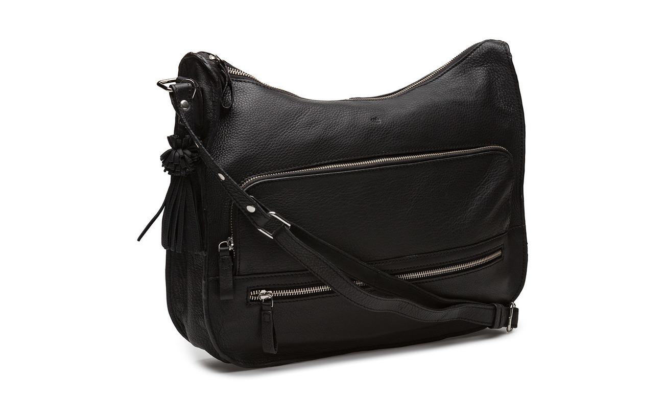Intérieure Équipement Peau De Adax Shoulder Puk 100 Doublure Vache Black Ruby Bag Coton FzFYxg