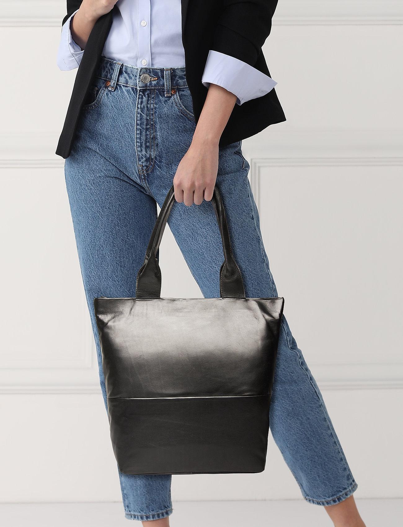 Adax Amalfi shopper Lucia - BLACK