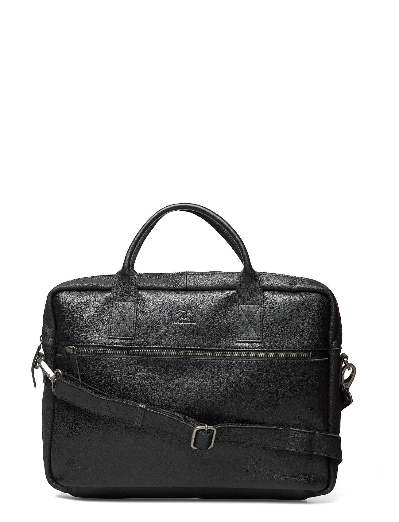 Adax Prato briefcase Tobias 15,6' - BLACK