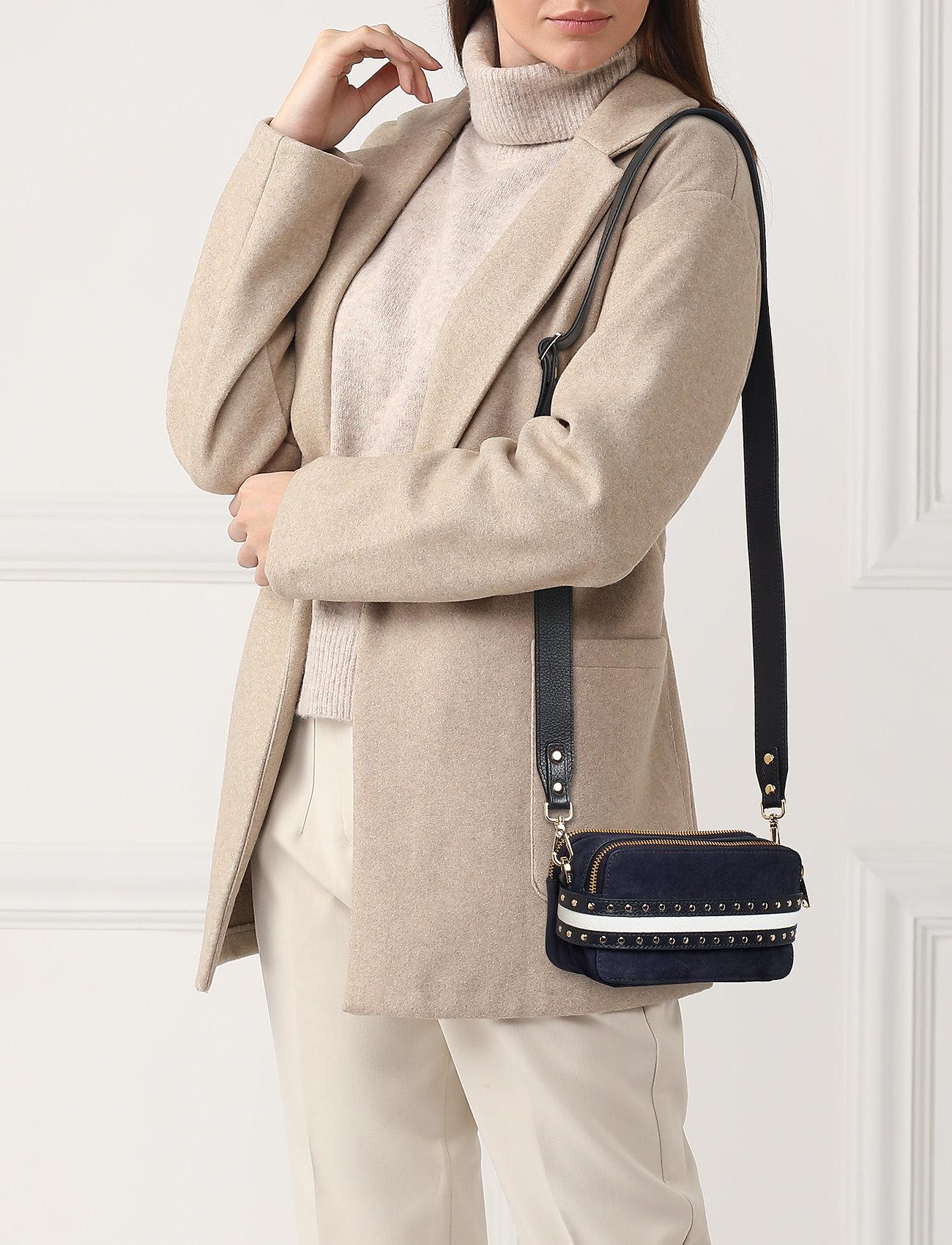 Adax Berlin Shoulder Bag Catherine - Axelremsväskor Navy