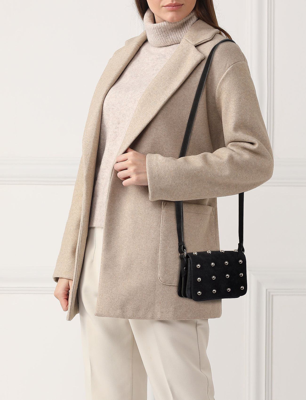 Adax - Marino shoulder bag Asta - sacs à bandoulière - black - 0