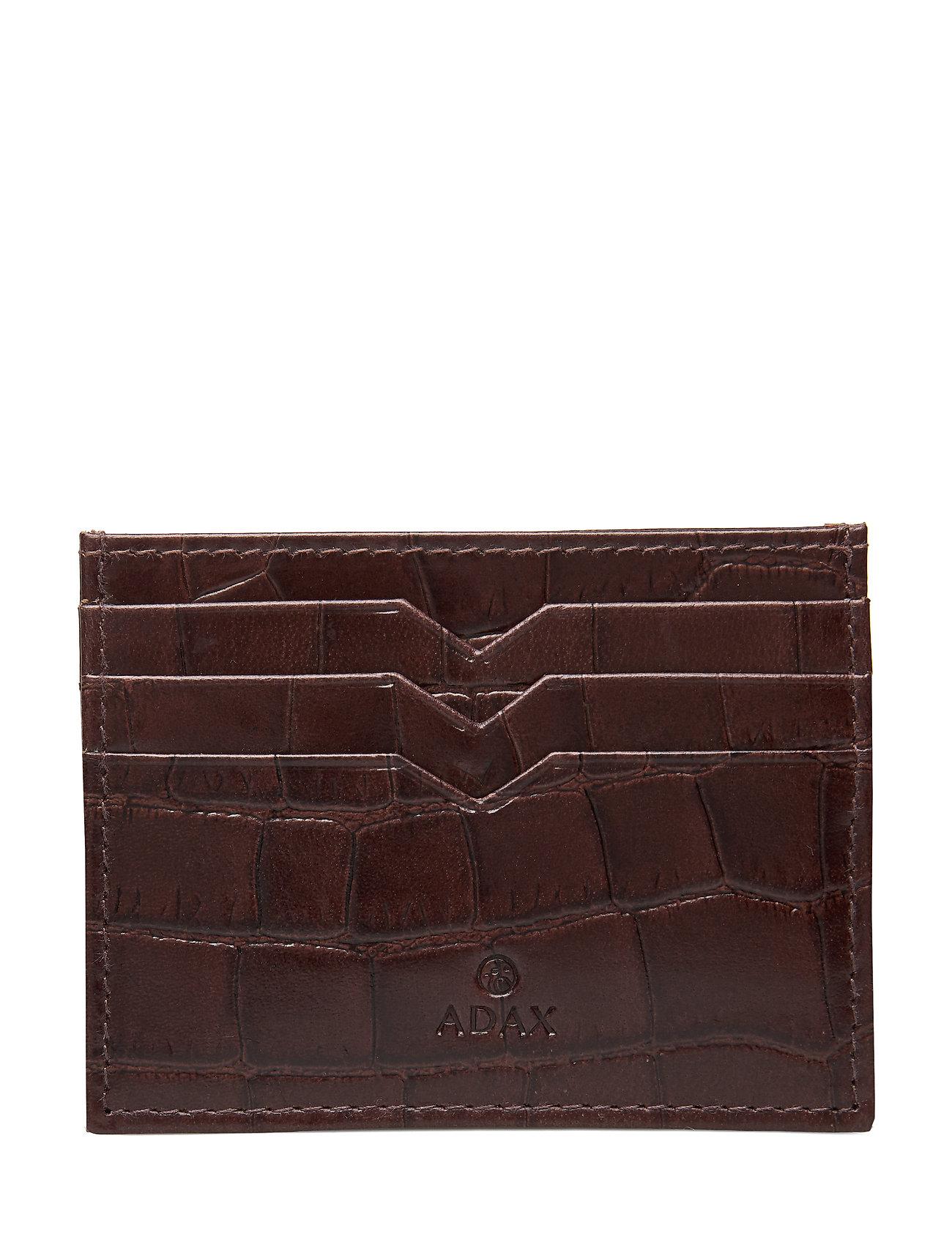 Image of Piemonte Credit Card Holder Milo Bags Card Holders & Wallets Card Holder Brun Adax (3303361051)