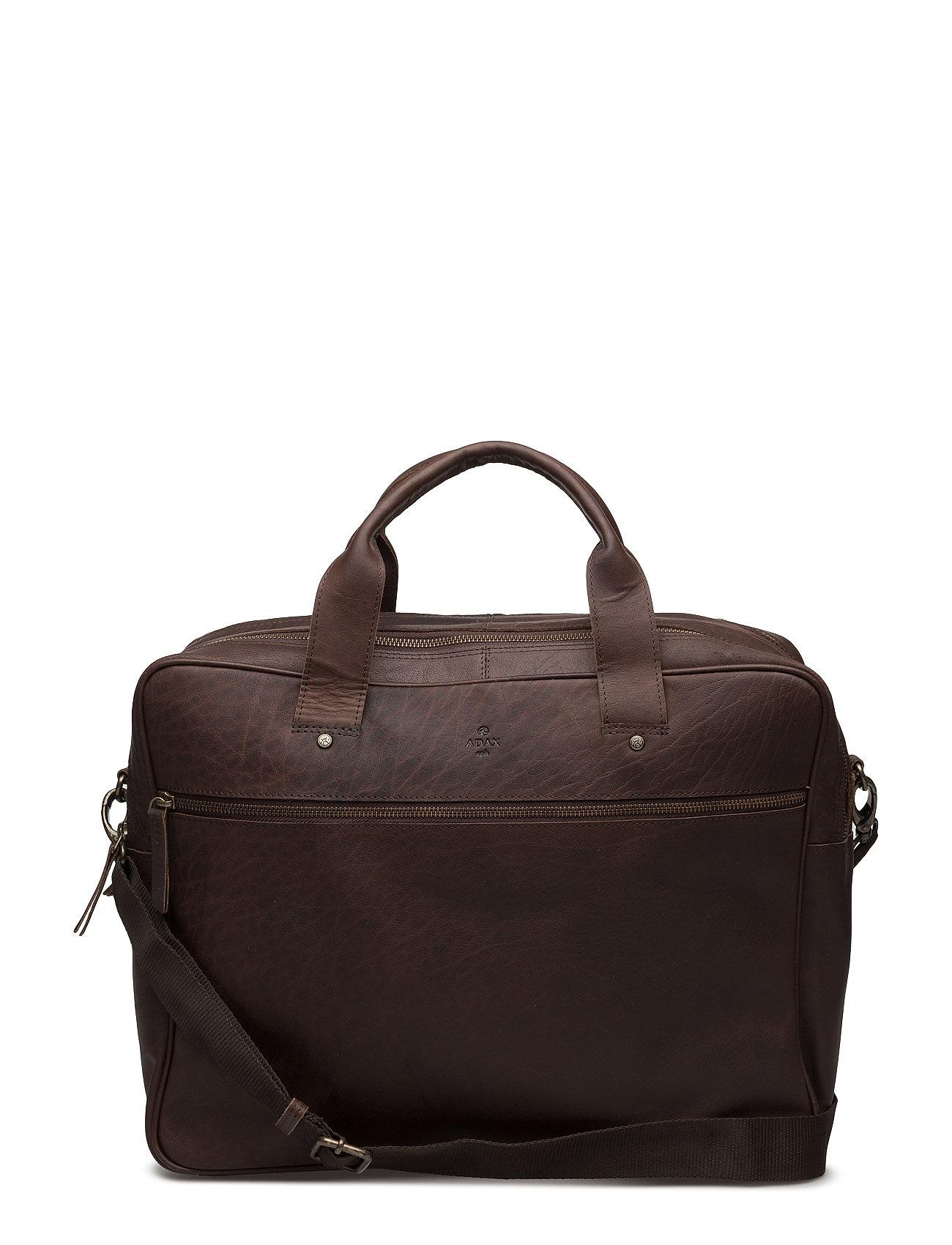 Adax KB3 working bag Liam - BROWN