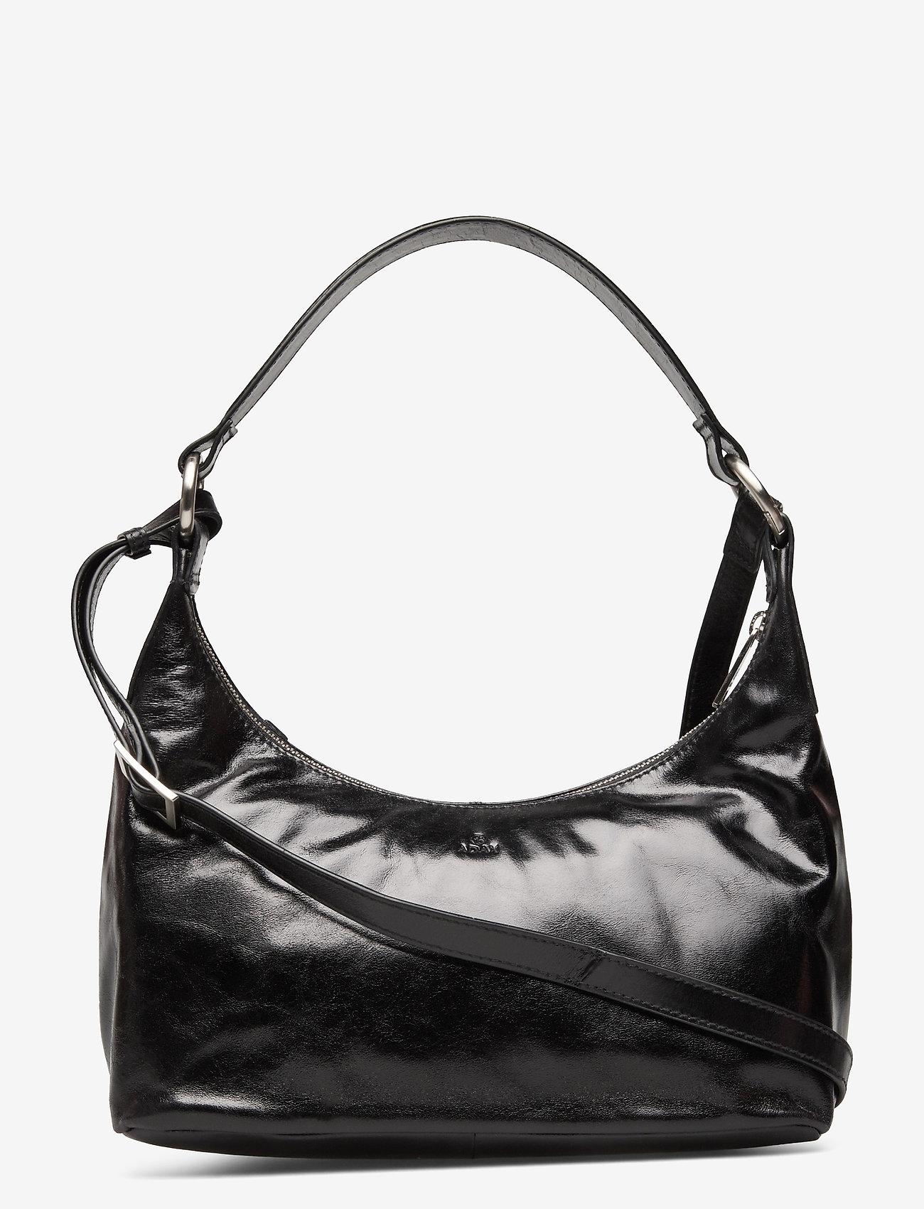 Adax - Salerno shoulder bag Robbie - handväskor - black - 0