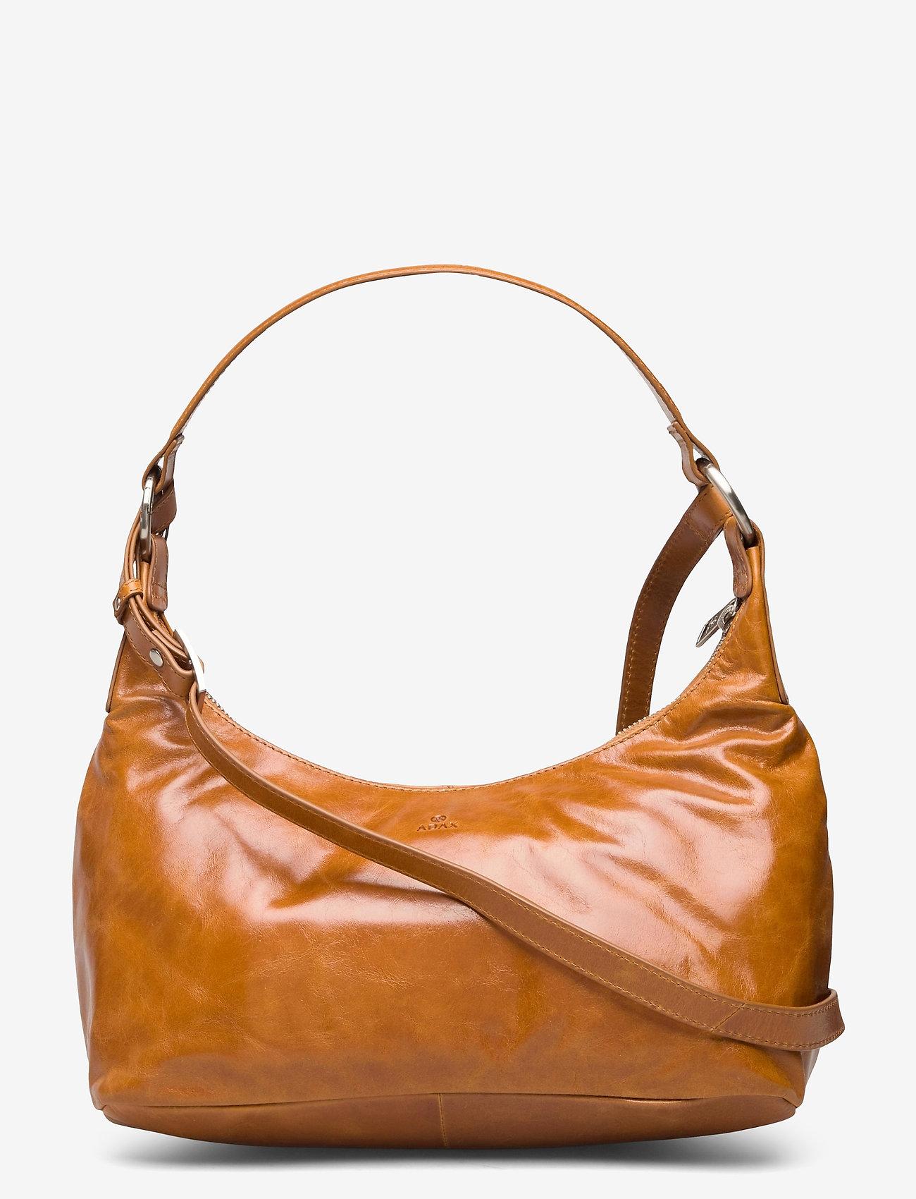 Adax - Salerno shoulder bag Robbie - handväskor - cognac - 0