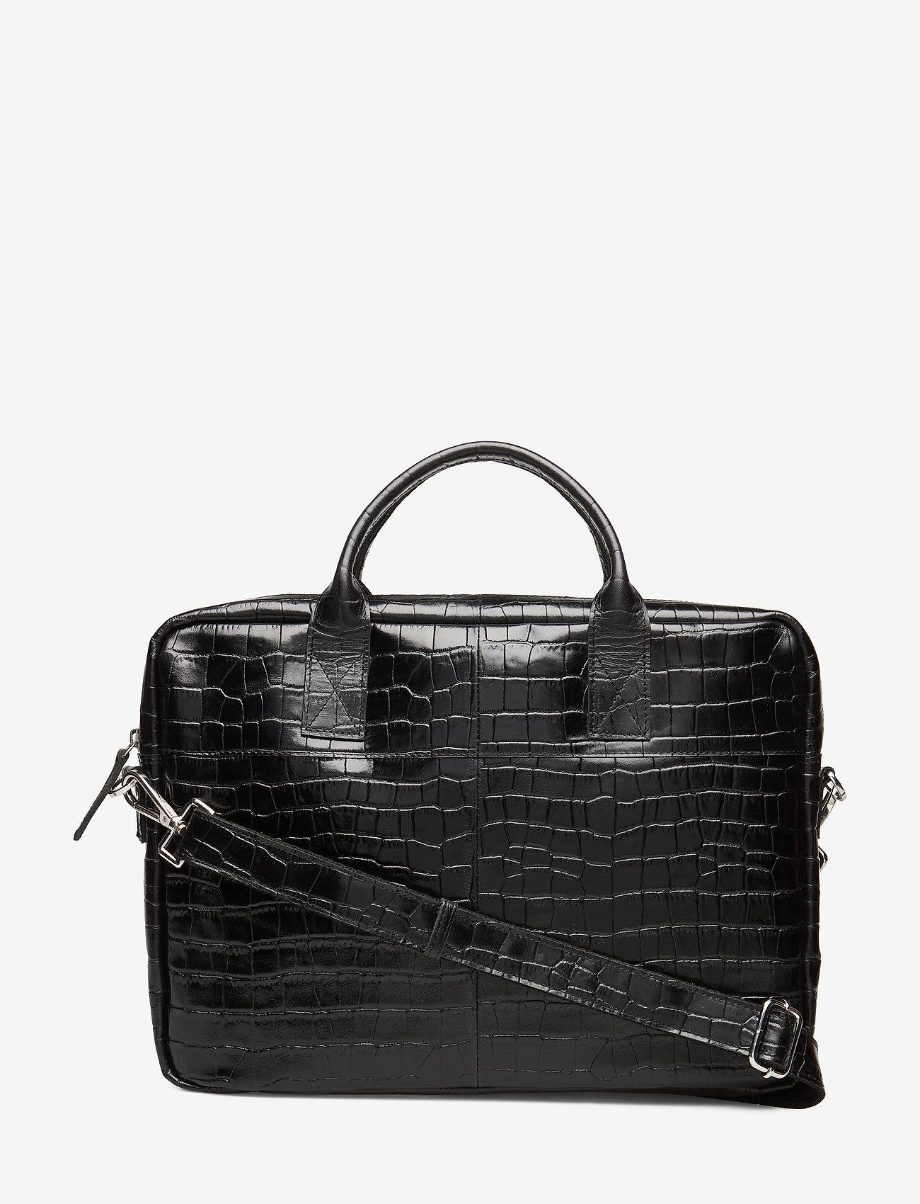 Adax - Piemonte working bag Leslie 15' - laptop-väskor - black - 0