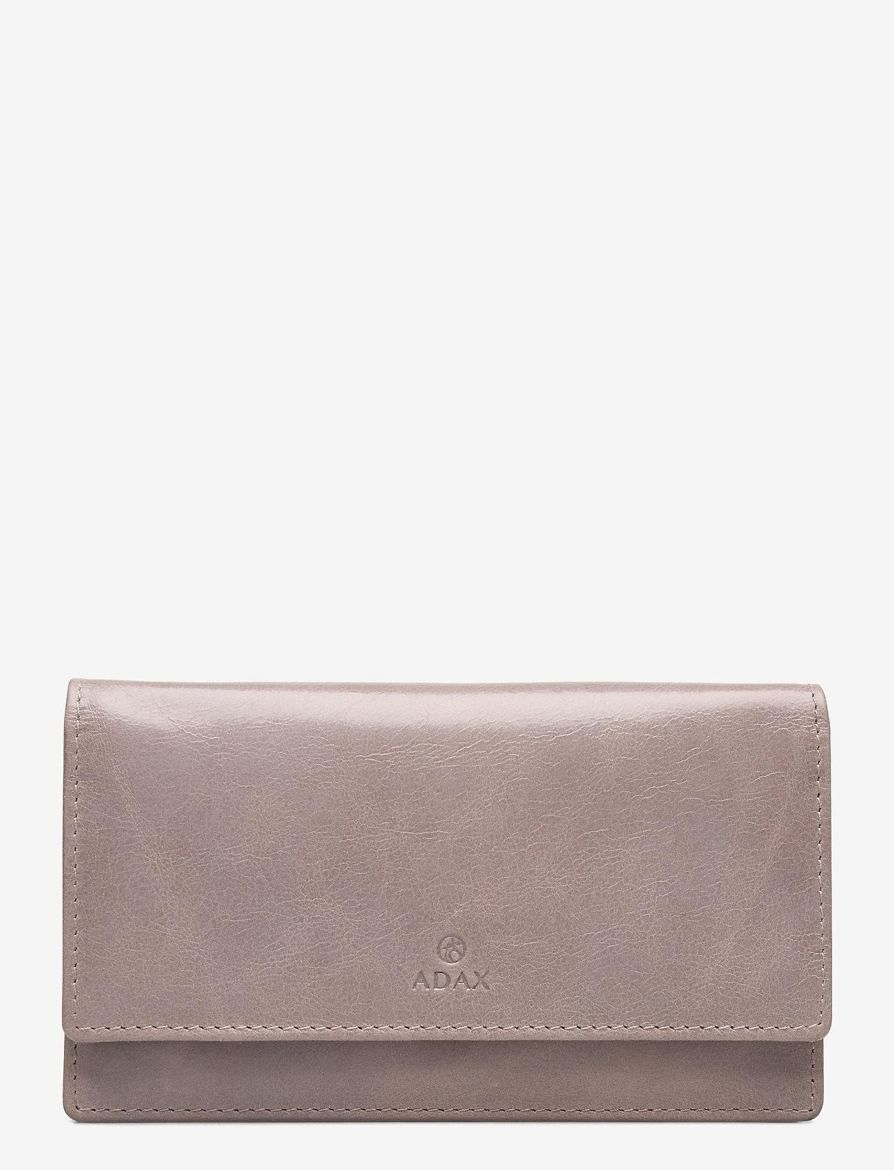 Adax - Salerno wallet Nete - naudas maki - cement - 0