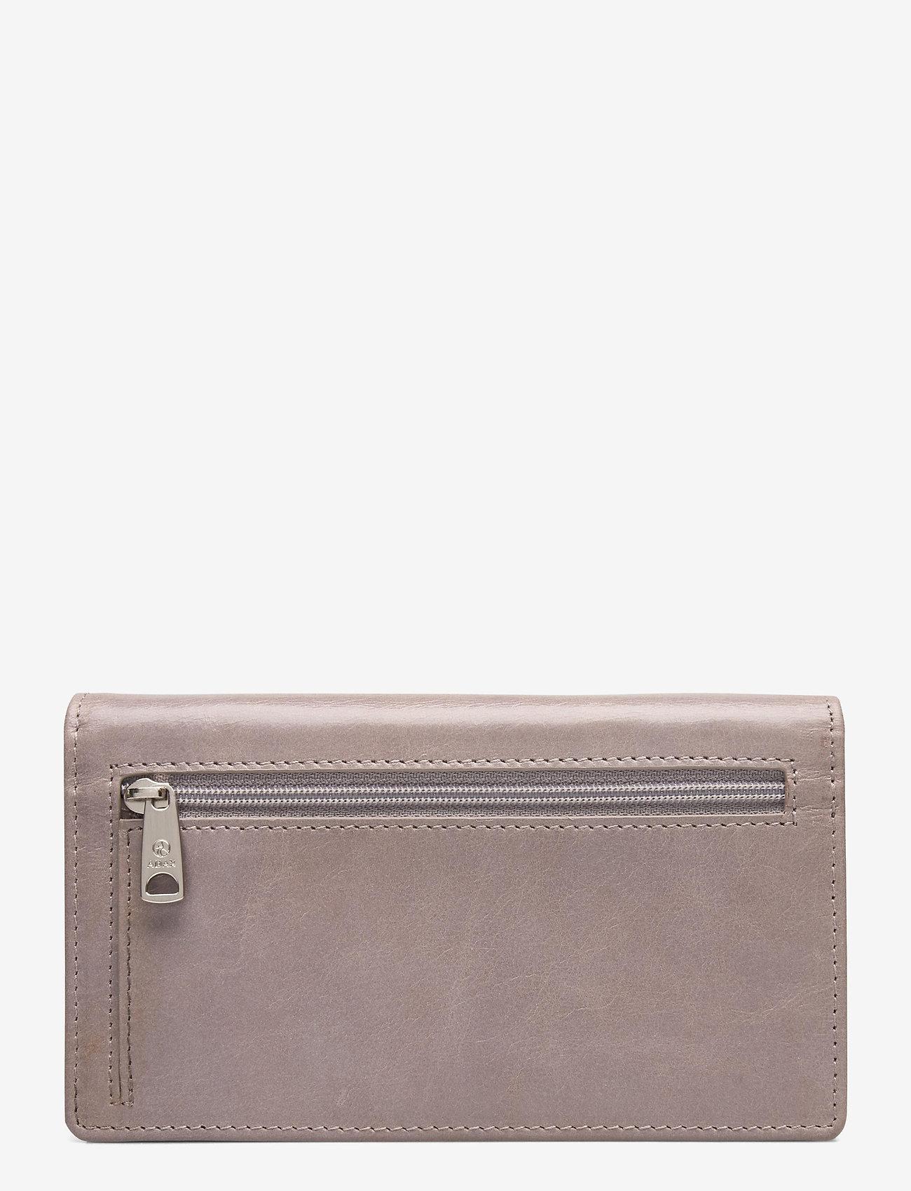 Adax - Salerno wallet Nete - naudas maki - cement - 1