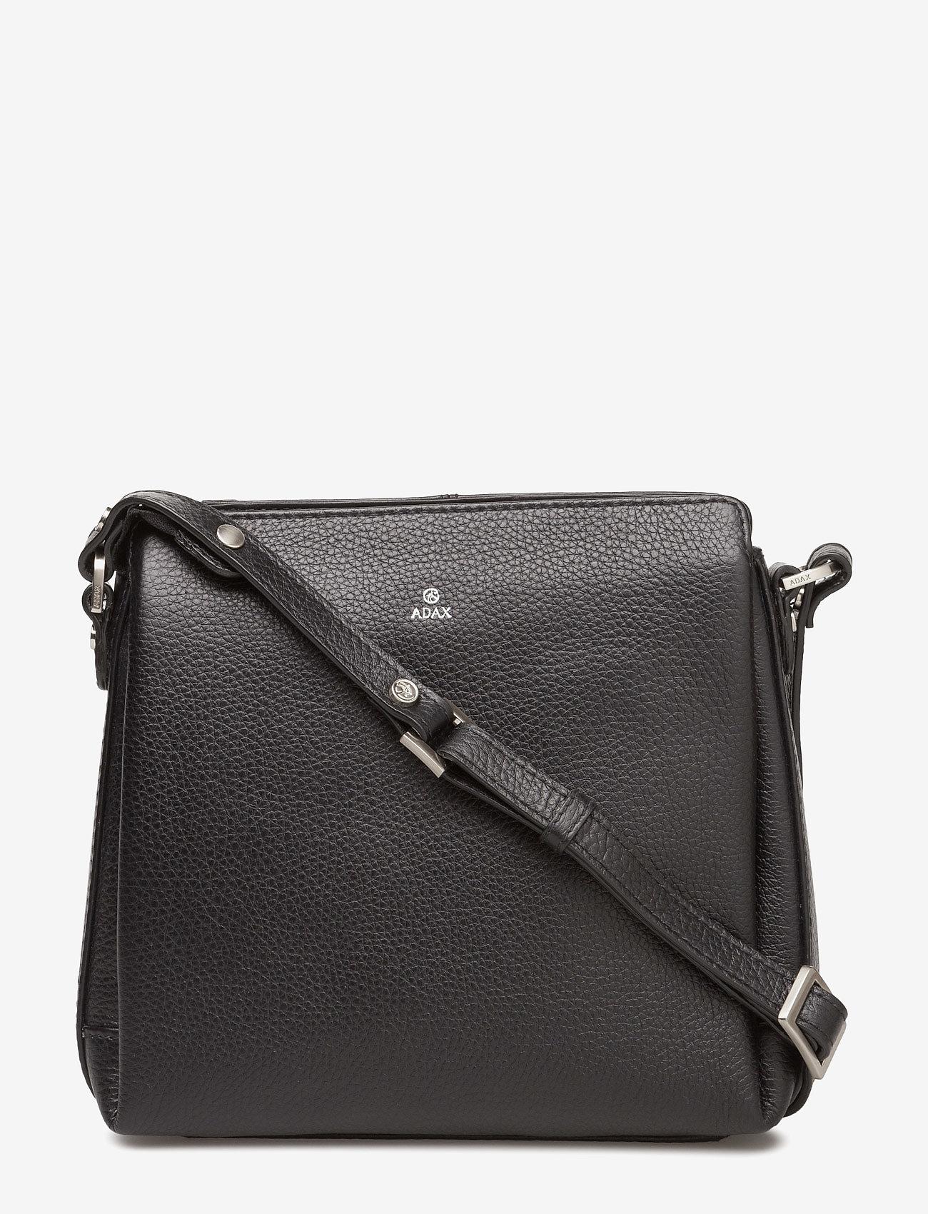 Adax - Cormorano shoulder bag Sia - crossbody bags - black - 0