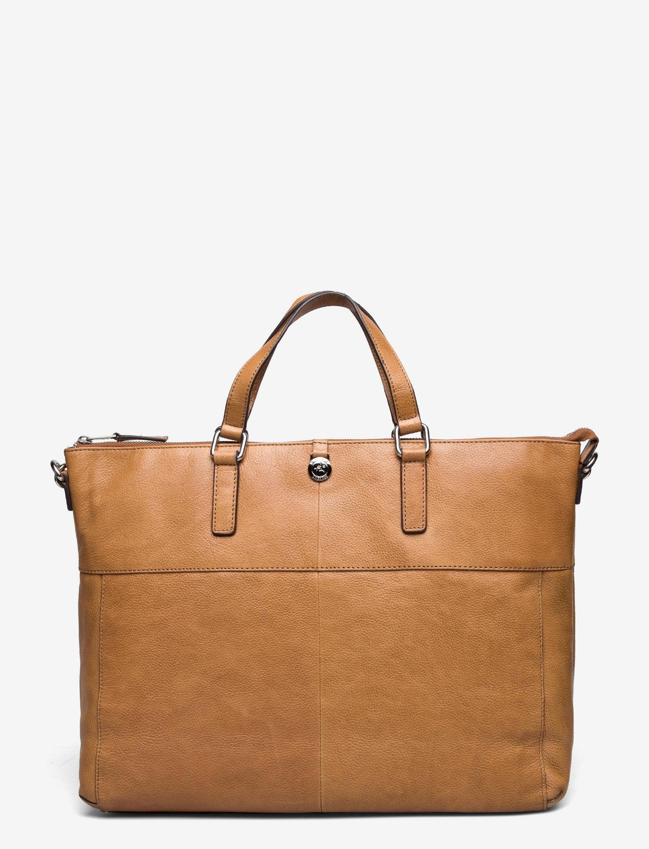 Adax - Napoli working bag Sasha - laptoptassen - cognac - 1