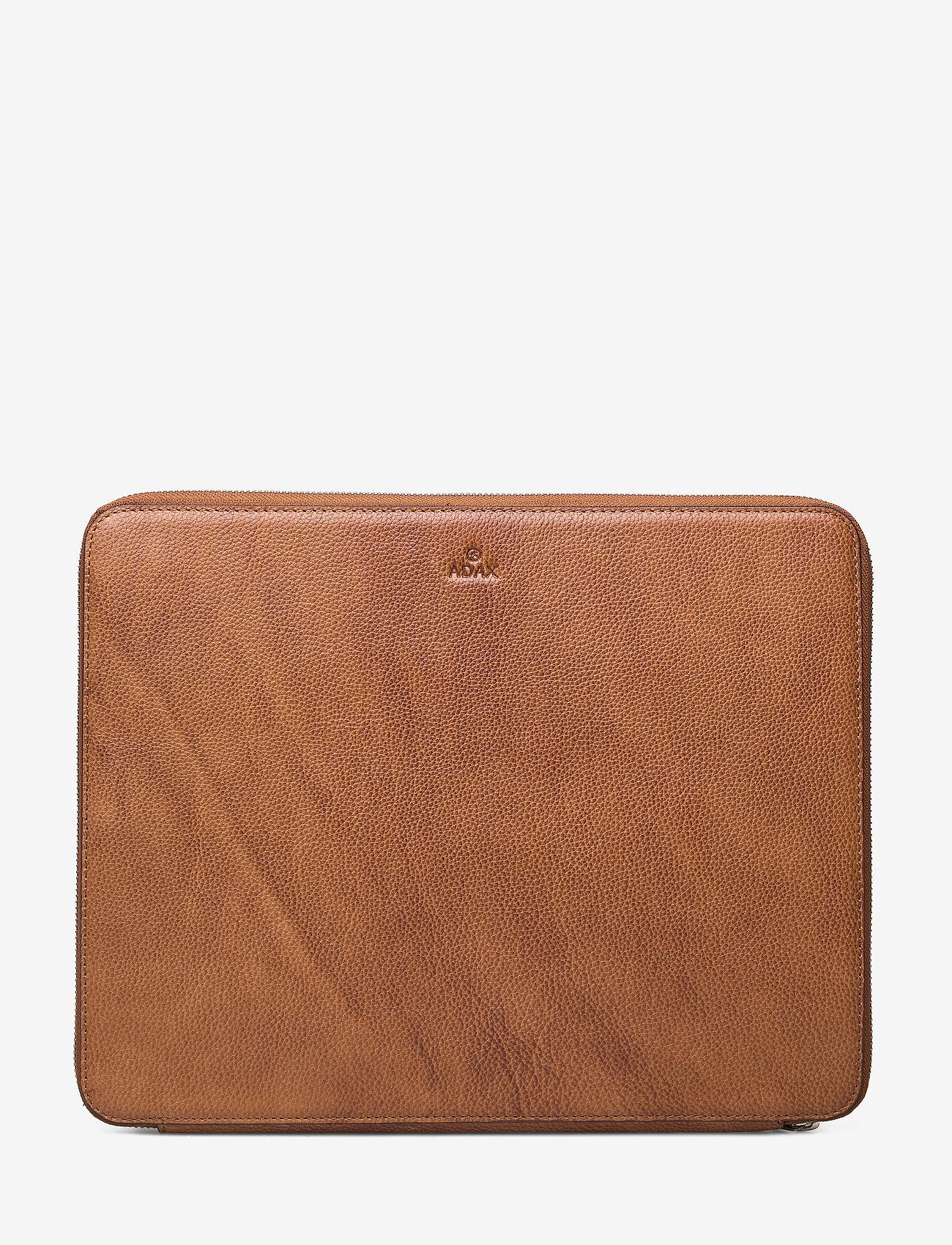 Adax - Napoli portfolio Anders - laptoptassen - cognac - 0