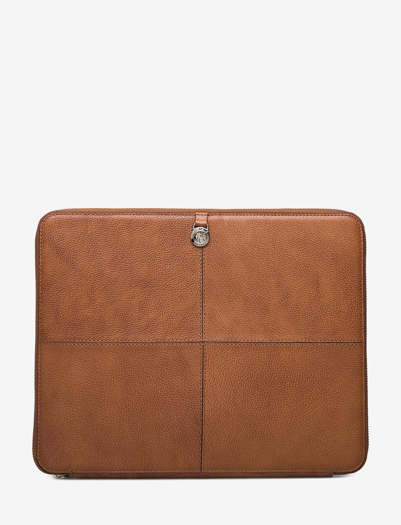 Adax - Napoli portfolio Anders - laptoptassen - cognac - 1