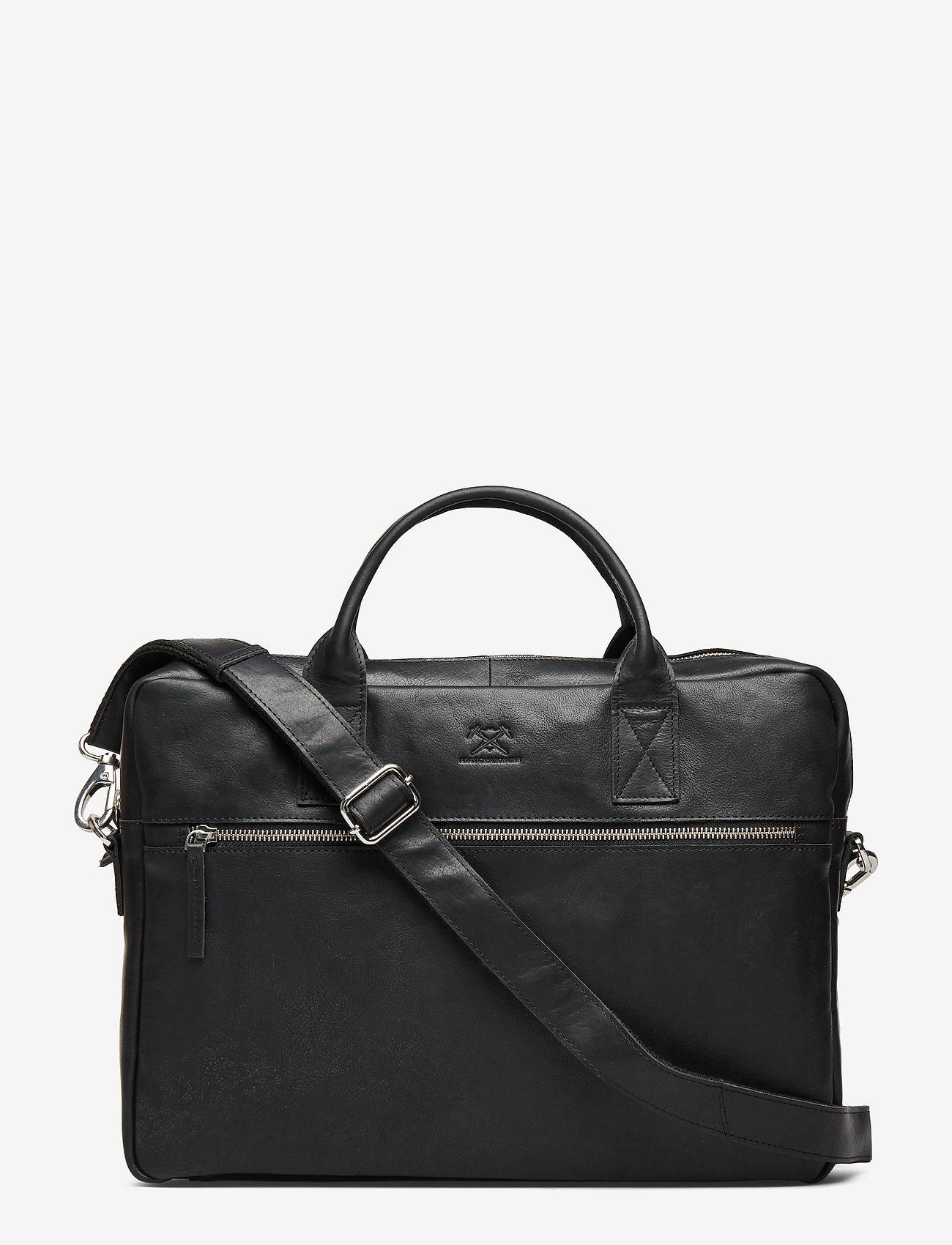 Adax - Catania briefcase Tobias 15,6' - briefcases - black - 0