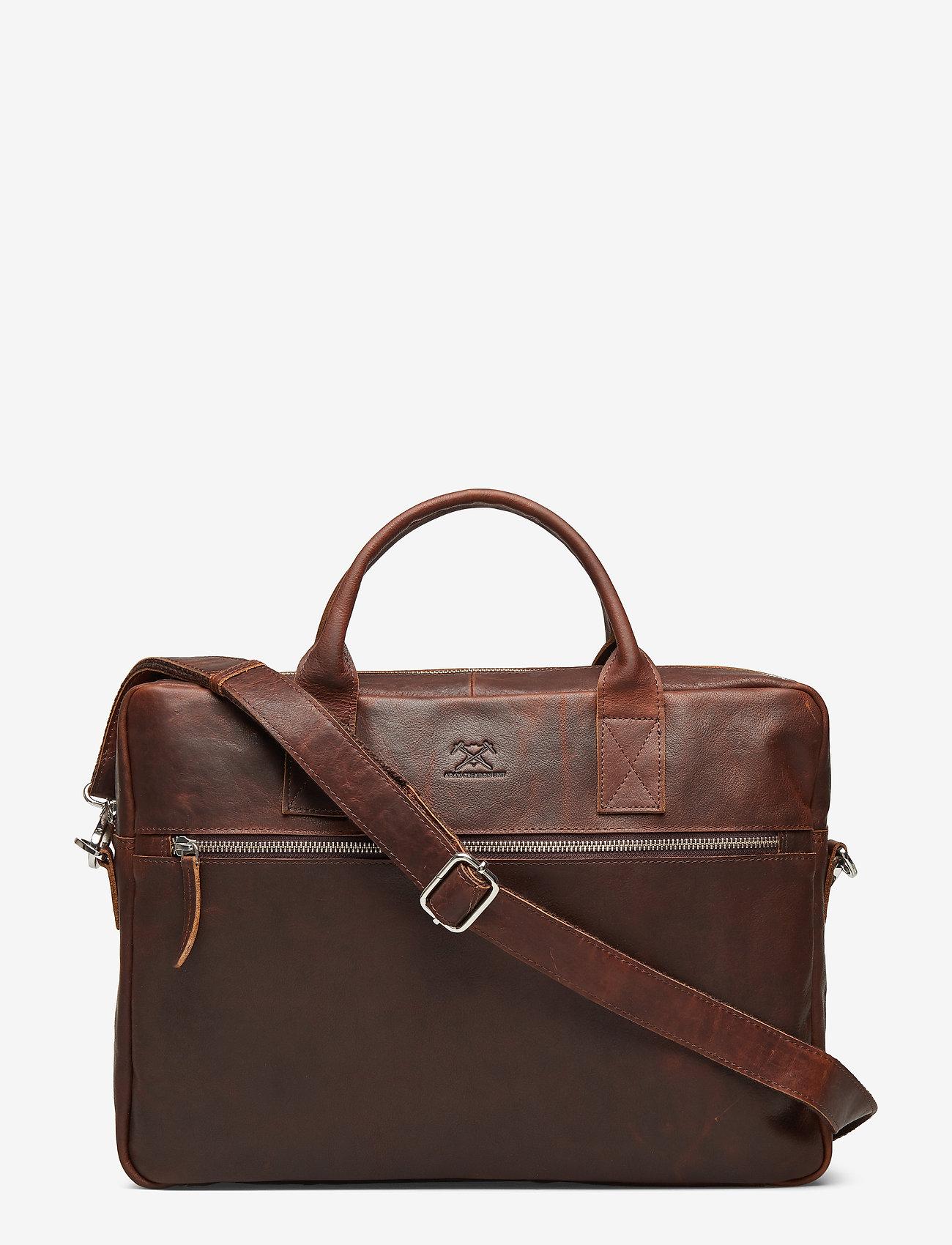 Adax - Catania briefcase Tobias 15,6' - briefcases - dark brown - 0