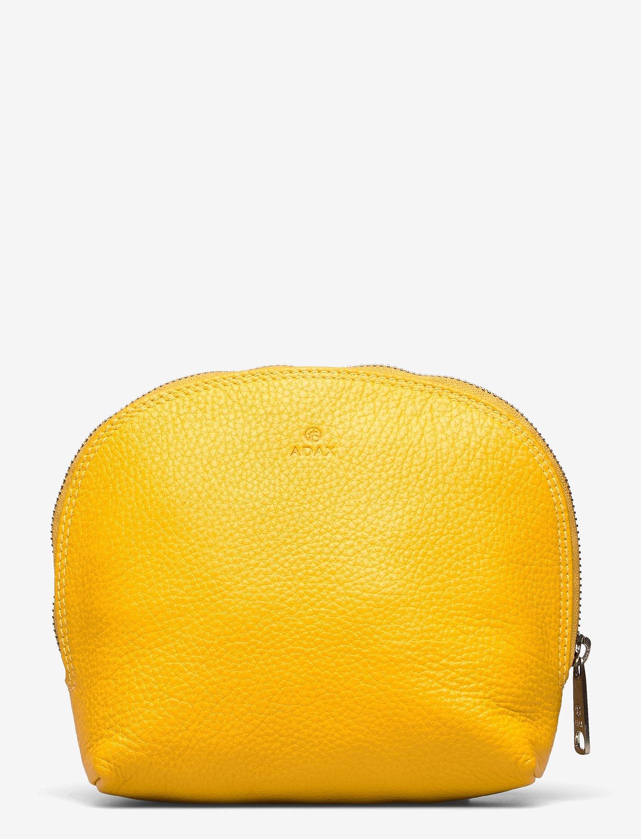 Adax - Cormorano cosmetic purse Lova - trousses de toilette - yellow - 0