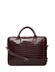 Piemonte working bag Leslie 15' - BROWN