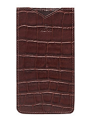 Piemonte iPhone cover Ziggy - BROWN