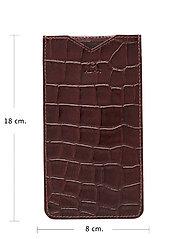 Adax - Piemonte iPhone+ cover Dakota - puhelimen kuoret - brown - 3