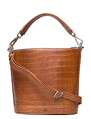 Teramo bucket bag Katrine - CHESTNUT