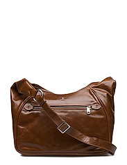 Salerno shoulder bag Lucy - BROWN