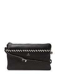 Sicilia combi clutch Eline - BLACK WHITE