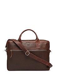 Catania briefcase Tobias 15,6' - DARK BROWN