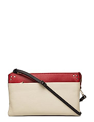 Berlin combi clutch Scarlet - OFF WHITE