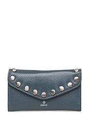 Niccone wallet Alberte - PETROL