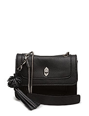 Ruby shoulder bag Enid - BLACK