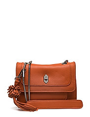 Ruby shoulder bag Enid - PAPAYA