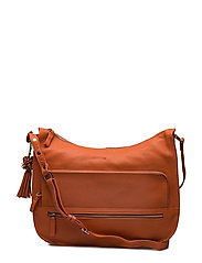 Ruby shoulder bag Puk - PAPAYA