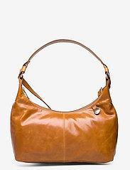 Adax - Salerno shoulder bag Robbie - handväskor - cognac - 1