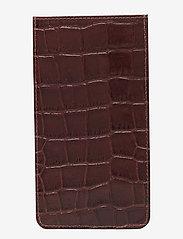Adax - Piemonte iPhone+ cover Dakota - puhelimen kuoret - brown - 1