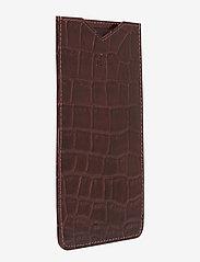 Adax - Piemonte iPhone+ cover Dakota - puhelimen kuoret - brown - 2