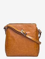 Salerno shoulder bag Emmy - COGNAC