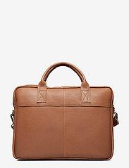 Adax - Prato briefcase Tobias 15,6' - laptoptassen - cognac - 0