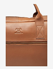 Adax - Prato briefcase Tobias 15,6' - laptoptassen - cognac - 2
