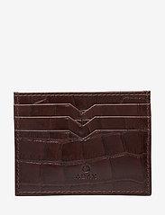Adax - Piemonte credit card holder Milo - kaart houders - brown - 0