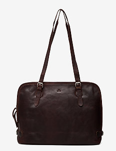 Catania shoulderbag Tabitta - schoudertassen - dark brown