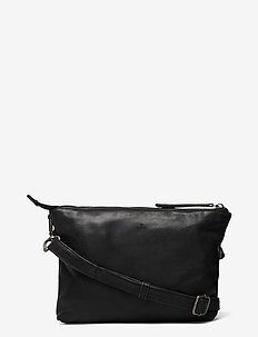 Pixie shoulder bag Nadine - schoudertassen - black