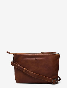 Pixie shoulder bag Nadine - schoudertassen - cognac